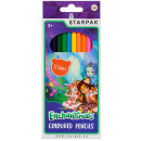 12 color pencil pencils / 180 starpak enchantimal