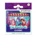 wax crayons 12 colors starpak enchantimals pud