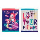 folder with paper eraser a4 starpak enchantima fol
