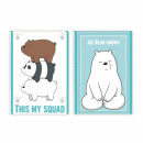 notes starpak a7 we bare bears folia 20/1