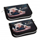 pencil case 1 zip 2 wings starpak 35 doggy pouch
