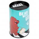 Großhandel Geschenkartikel & Papeterie: Sparschwein traf Runde Starpak wir nackten Bären W