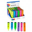 wholesale Gifts & Stationery: Highlighter 6 colors mix starpak on Display