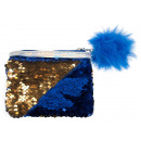 wholesale Bags & Travel accessories: purse with sequins starpak blue bag with