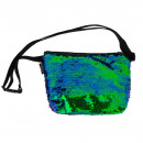 wholesale Bags & Travel accessories: starpak sequins shoulder bag green pouch