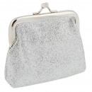 Starpak Geldbörse Silber Tasche mit Anhänger