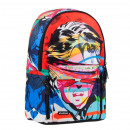 school backpack starpak face pouch