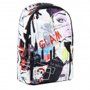 school backpack starpak glam pouch