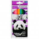pencil crayons 12kol / 180mm panda box