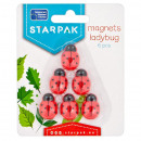 wholesale Magnets: magnet ladybug 25mm starpak pack blister