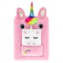 diary plush 148x210 starpak unicorn pouch