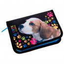 wholesale Toys: pencil case 1 zip 2 wings starpak 35 doggy pouch
