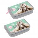 hurtownia Upominki & Artykuly papiernicze: piórnik 1zam2kl wyposażony starpak 25 kitty worecz