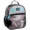backpack mini starpak kitty sepia pouch
