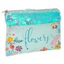 wholesale Licensed Products: pencil case starpak flowers pouch