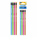 pencil with eraser trj pa bag with a hanging tag o