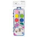 wholesale Gifts & Stationery: 12 colors watercolors + brush starpak fi28 ...