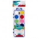 Aquarellfarben 12 Farben + Pinsel fi28 starpak wo