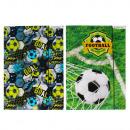 wholesale Folders & Binders: folder with a4 rubber paper starpak Football ...