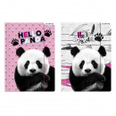Großhandel Mappen & Ordner: Ordner mit Radiergummi a4 Starpak Panda Folie