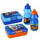 wholesale Lunchboxes & Water Bottles: water bottle + breakfast box Hot Wheels bag