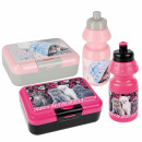 wholesale Lunchboxes & Water Bottles: water bottle + breakfast box kitty pouch