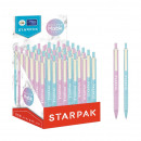 wholesale Pencils & Writing Instruments: Starpak Marble Ballpoint Pen Display