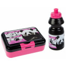 wholesale Lunchboxes & Water Bottles: water bottle + breakfast box panda pouch