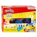 wholesale Gifts & Stationery: finger paints 6 colors 40ml starpak