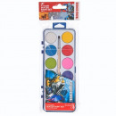 paints watercolors 12 colors + brush fi28 starpak