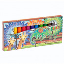 plasticine 12 kleuren starpak safari pud