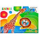 tekenblok a3 / 20k witte starpak Safari-folie
