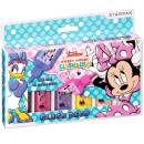 Großhandel Geschenkartikel & Papeterie: Glasmalerei Farbe 6 Farben 22ml Starpak Minnie Win