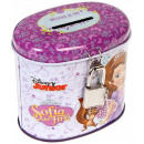 metal piggy bank closed oval starpak sofia wor