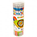 pencil with eraser starpak safari tuba