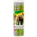pencil with eraser starpak animal en tuba