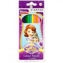 pencil crayons 12 colors / 180 starpak sofia pud