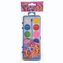 Großhandel Geschenkartikel & Papeterie: malt Aquarelle 12 Farben + Pinsel fi28 starpak wi