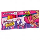 plasticine 12 colors starpak Barbie power pud