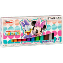 plasticine 12 colors starpak Minnie pud