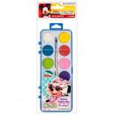 Großhandel Lizenzartikel: malt Aquarelle 12 Farben + Pinsel fi28 Starpak mi