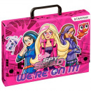 folder with handle a4 starpak Barbie spy pud