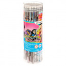 pencil with eraser starpak Barbie spy tuba