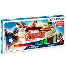 plasticine 12 colors starpak Avengers pud