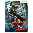 Notizbuch a5 / 16k gratka starpak Avengers Folie
