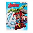Notebook a5 / 16k Linien Starpak Avengers Folie