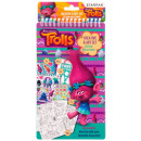 creative set 14x24cm starpak Trolls bag with