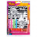 diary closed starpak with markers Trolls blist