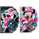 shaped notepad starpak a6 Minnie foil