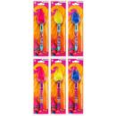 ingrosso Prodotti con Licenza (Licensing): penna multicolore con capelli Trolls blister